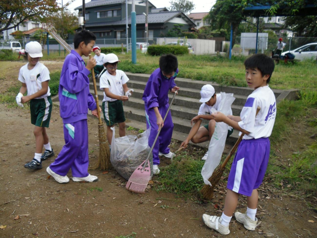 小学生 ボランティア活動 6