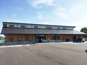今年6月にオープンした福井県動物管理指導センター。県内6か所の保健所で行っていた犬猫の保護、相談業務を集約して行っています。